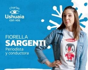 La periodista de Radio Metro Fiorella Sargenti participa de #UshuaiaConVos