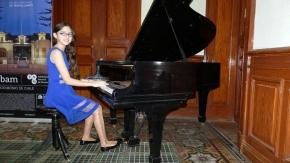 La pianista Pilar Delgado se presentará este viernes en Ushuaia