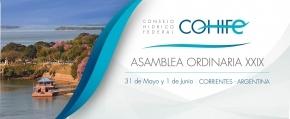 La Secretaría de Ambiente participó de la XXIX Asamblea Ordinaria del Consejo Hídrico Federal