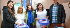 La Secretaría de Ciencia y Tecnología entregó kits de robótica a escuelas rurales