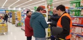 La Secretaría de Comercio de la provincia realizó controles de precios y abastecimiento de productos en Tolhuin