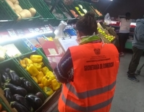 La Secretaría de Comercio realiza controles de precios en supermercados y distribuidoras
