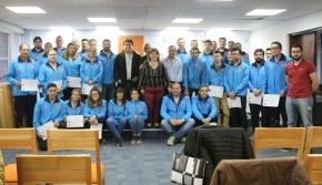 La Secretaría de Deportes y Juventud presentó a los entrenadores de las selecciones fueguinas para EPADE