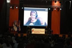 """La socióloga australiana Raewyn Connell disertó por videoconferencia en el 2° Congreso Internacional """"Educación e inclusión desde el Sur"""""""