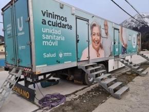 La Unidad Sanitaria Móvil atiende esta semana en el barrio Río Pipo
