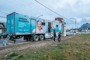 La Unidad Sanitaria y el Quirófano Móvil seguirán hasta el jueves en la avenida Alem
