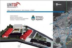 La UNTDF abrió la licitación pública para la construcción de un nuevo edificio
