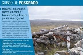 """La UNTDF dictará el Curso de Posgrado """"Malvinas: experiencia, guerra y memoria"""""""