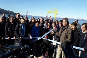 La UNTDF participó de la inauguración de los muelles de Ushuaia y Almanza