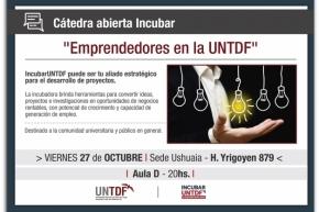 La UNTDF pone en marcha una Cátedra Abierta sobre Emprendedorismo