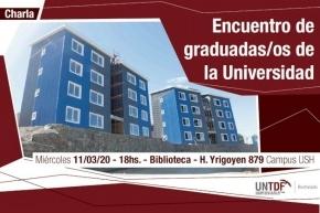 La UNTDF realizará un encuentro de graduados