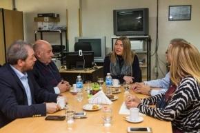La UTN y la UNTDF ratificaron su apoyo a las políticas de ajuste de Bertone
