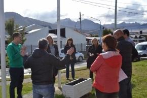 La vicegobernadora Urquiza visitó las instalaciones de la línea 107 de emergencias en Ushuaia