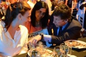 La vicepresidenta Michetti compartió una cena con Margarita Barrientos