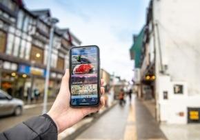 Lanzan una nueva aplicación para teléfonos móviles destinada a turistas que visitan Ushuaia