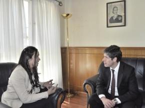 Laura Ávila se reunió con Juan Manuel Abal Medina