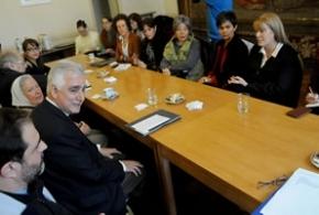 Legisladoras del Frente de Acción Progresista se reunieron con la Pastoral Social por la reglamentación de la Ley de Trata