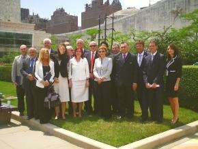 Legisladores y ex – combatientes integraron la delegación fueguina en el Comité de Descolonización
