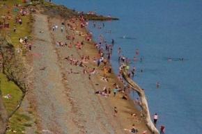 """Limpieza de Playa Larga: """"Creemos que es necesaria ante la masiva concurrencia de gente"""""""