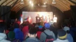 """Logo boleto estudiantil: El cierre del certamen se realizó con el evento Rap Fueguino """"Proyecto 246 Vol 3"""""""