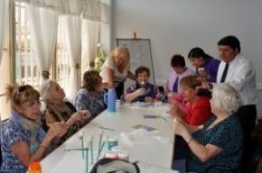 Los abuelos también disfrutan de las actividades de verano