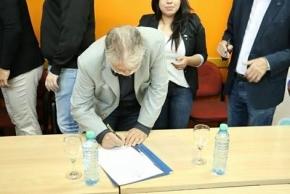 Los Municipios de Ushuaia y Río Grande firmaron decreto de inamovilidad del 2 de Abril