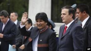 México anunció que otorgó asilo políticos a veinte ex funcionarios de Bolivia