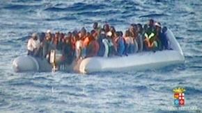 Marina italiana rescata cerca de 1.300 inmigrantes