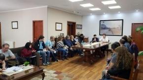 Melella recibió a la multisectorial de Derechos Humanos para dialogar sobre la realidad de la provincia