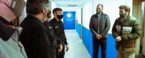 Melella visitó la Comisaría Primera de Río Grande y destacó el trabajo de las fuerzas de seguridad