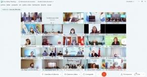 Melella y Di Giglio participaron del lanzamiento del Programa Federal de Salud Digital