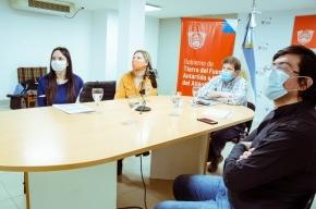 Melella y Urquiza encabezaron la presentación del proyecto para construir un Centro de Rehabilitación en Ushuaia