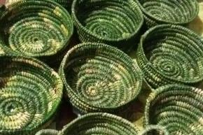 Miembros de la Comunidad Yagán fueguina participarán de la feria Creadoras del Tiempo exponiendo cestería