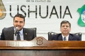 """Mientras Vuoto """"chapea"""" en Buenos Aires, Pino es reelecto como presidente del Concejo Deliberante"""