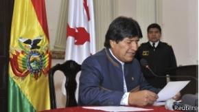 """Morales pide a seguidores que no entren en la """"guerra sucia"""" electoral"""