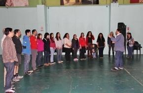 Muestra de Capacitación Gospel para Coros