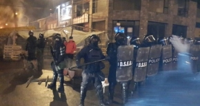 """Murray negó que haya manifestantes heridos y calificó de """"profesional"""" el accionar policial"""