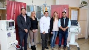 Newsan donó equipamiento al Hospital Regional Ushuaia