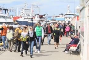 Nuevo récord de turistas durante los primeros ochos meses del año