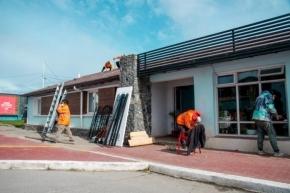 Obras Públicas de Ushuaia puso a disposición el albergue municipal como centro de atención