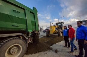 Plan de obras prioritarias en Ushuaia: Trabajos viales en Andorra, Barrio Pipo y Ecológico