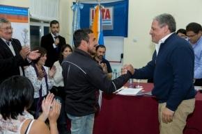 Plan provincial de Desarrollo Forrajero: Bertone encabezó la firma de un convenio por 10 millones de pesos