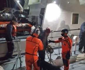 Prefectura Naval rescató a dos personas en río Encajonado