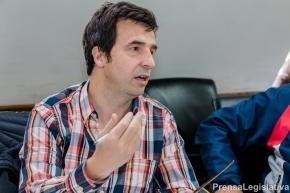 Presupuesto 2018: Rubinos pidió a Obras Públicas regularizar redes de gas a tres barrios de Ushuaia