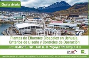 Profesional de Obras Sanitarias expondrá sobre el sistema de tratamiento de efluentes cloacales en Ushuaia