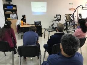 Profesionales del Centro de Rehabilitación Libertador continúan capacitando al personal de Mamá Margarita y del Banco de Ayudas Técnicas