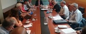 Reunión en Nación con funcionarios de Educación, Cultura, Ciencia y Tecnología, para promover el desarrollo de la provincia