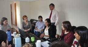 Ríos y Arias recibieron a representantes de la ANMAT