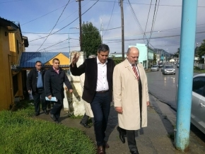 Sagastume visitó unidades penitenciarias en Ushuaia