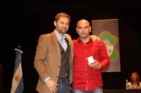 Sciurano entregó medallas a trabajadores municipales con 20 y 25 años de servicio